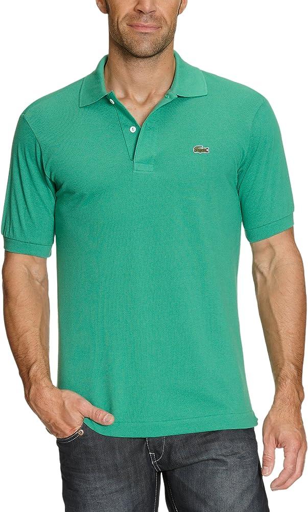 Lacoste polo,maglietta per uomo maniche corte,100% cotone L1212-02
