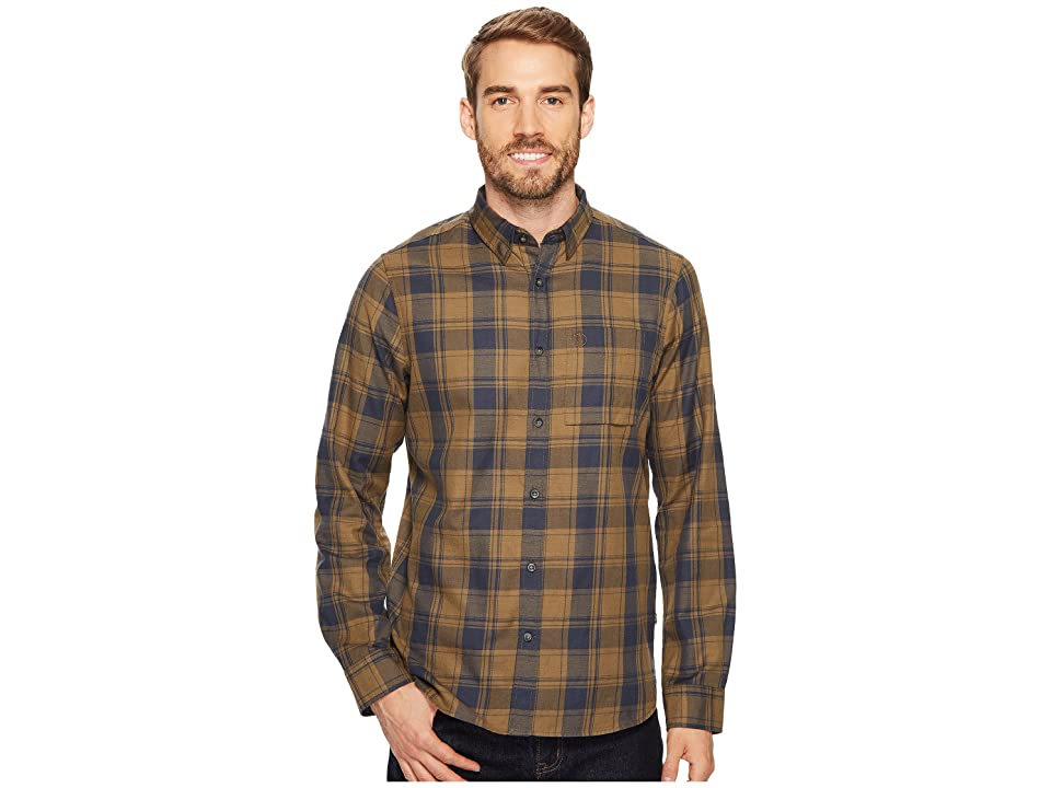 Fjallraven Ovik Flannel Shirt (Khaki) Men