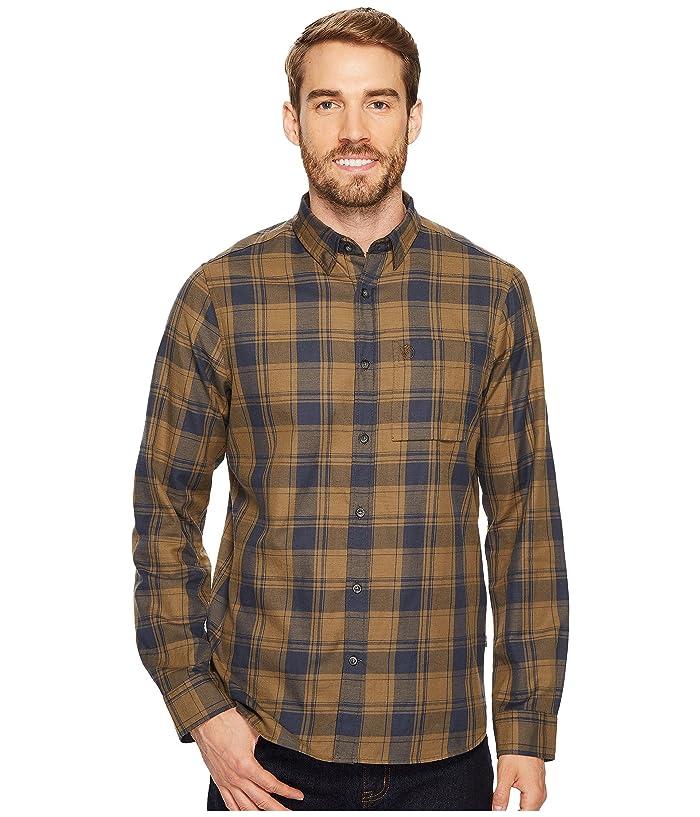 Fjallraven Ovik Flannel Shirt (Khaki) Men