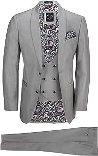 tallas 23//–/33//44//–/62 Mens Fashion/ /Traje de pantal/ón con pinzas para hombre en tallas grandes y normales varios colores