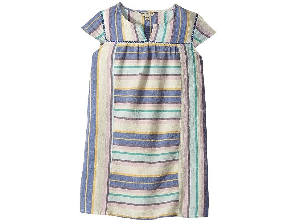 Lucky Brand Kids Kin Dress (Big Kids) (Biscotti) Girl