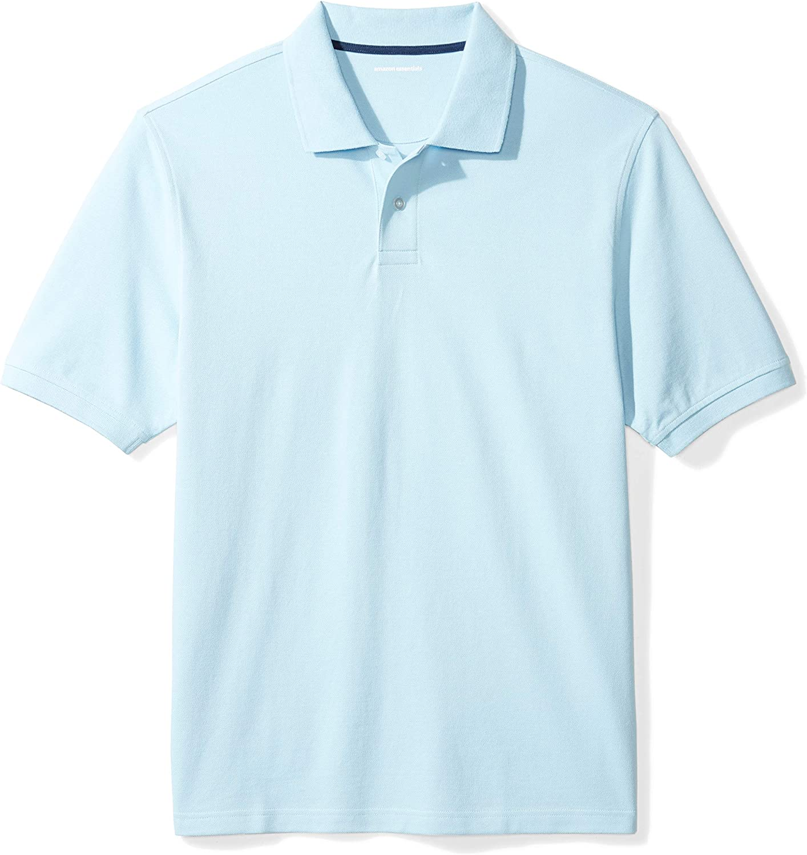 Amazon Essentials Men's Standard Regular-fit Sale SALE% OFF Polo Pique New item Cotton S