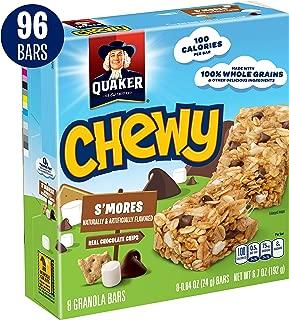 Quaker Chewy Granola Bars, S'mores, 96 Bars