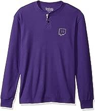 Twitch Men's Glitch Logo Thermal Henley