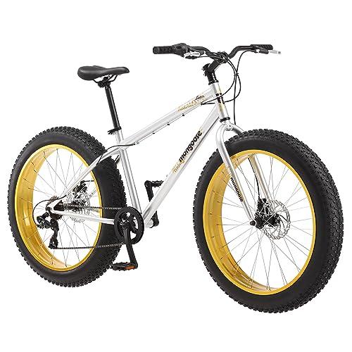 e475d16ca61 Mongoose Men's Malus Fat Tire Bicycle