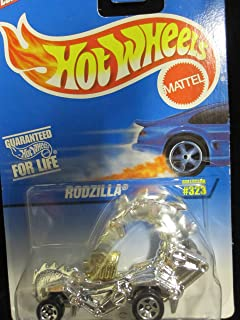 Rodzilla 1997 Hot Wheels Chrome W/5sp's, China Base