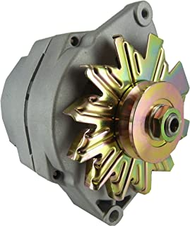 New 12V 63 Amp 10SI Self Exciting Alternator with One Wire Hookup, Universal / Tractor Applications 10459509