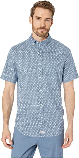 2654f75e Vineyard Vines Blanchard Gingham Performance Short Sleeve Tucker ...