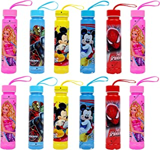 Laxmi Collection Perpetual Bliss Designed with Attractive Prints Fancy Disney Theme Water Bottle 500ml - Pack of 12