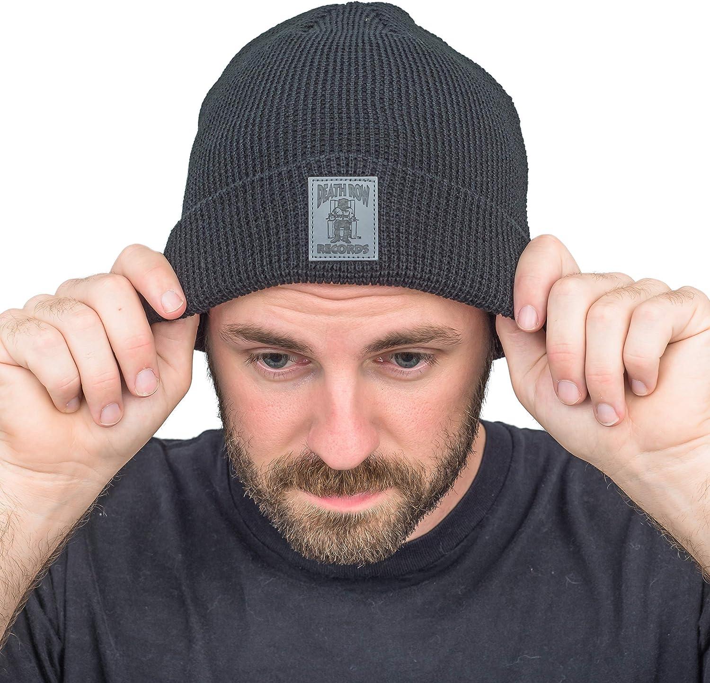 Ripple Junction Death Row Records Black Beanie Hat