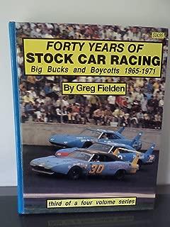 Forty Years of Stock Car Racing (Big Bucks and Boycott 1965-1971)