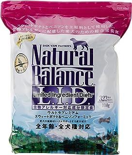 ナチュラルバランス スウィートポテト&ベニソン (全犬種/全年齢対応) 5.45kg
