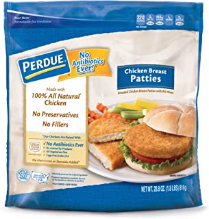 Perdue, Breaded Chicken Breast Patties, 1.8 oz (Frozen)