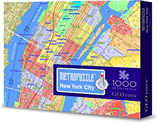 Geotoys METROPUZZLE New York - 1000 pc Jigsaw Puzzle