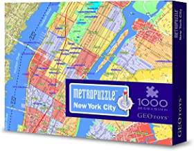 Geotoys METROPUZZLE New York - 1000 pc Jigsaw Puzzle