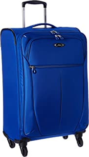 Luggage Mirage Superlight 24-Inch 4 Wheel Expandable Upright, Maritime Blue, One Size