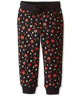 Dolce & Gabbana Kids - Back to School Floral Sweatpants (Toddler/Little Kids)