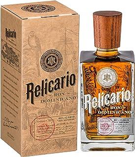 Relicario Superior Rum, Premium-Rum 40%, Ron 7 bis 10 Jahre gereift, stammt aus der Dominikanischen Republik 1 x 0.7 l