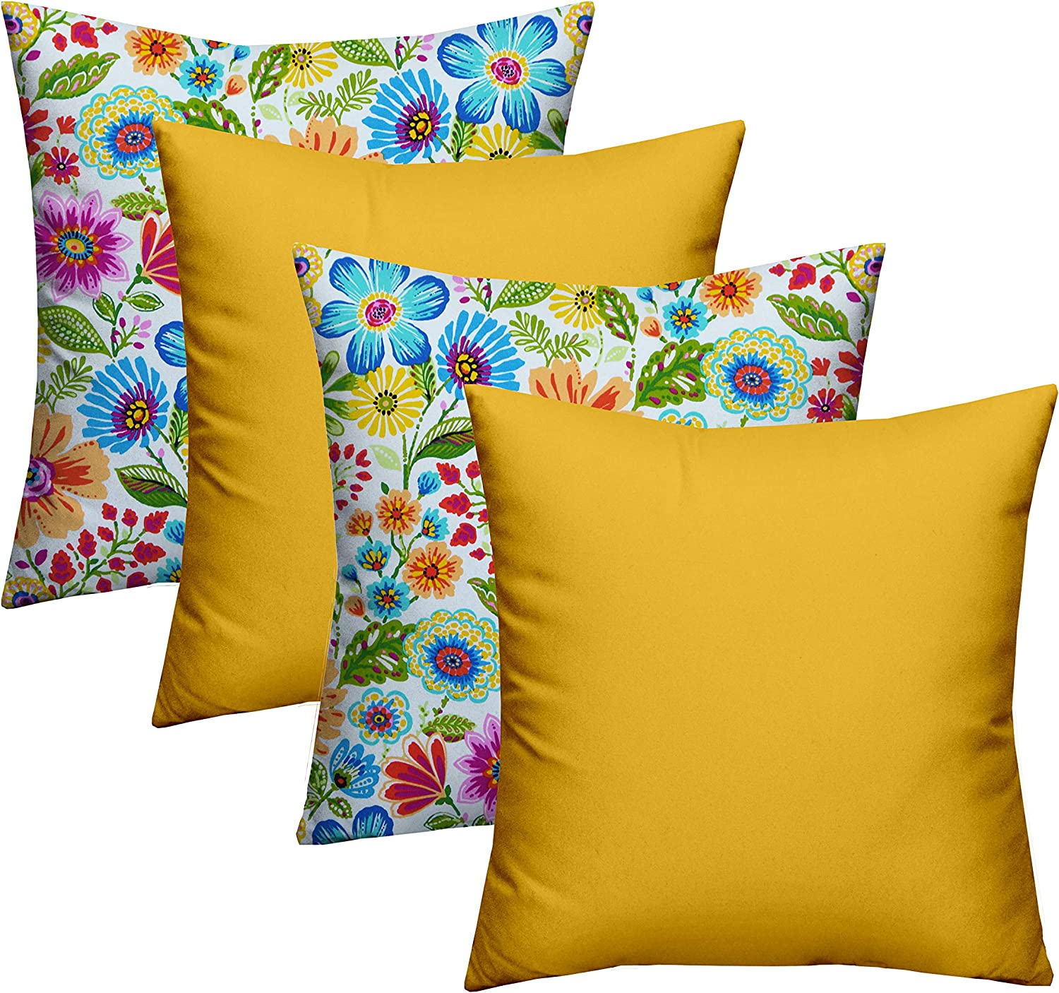 RSH Décor Designer Our shop OFFers the best service Indoor Outdoor Pack Pillow 4 Spasm price Coordinating -