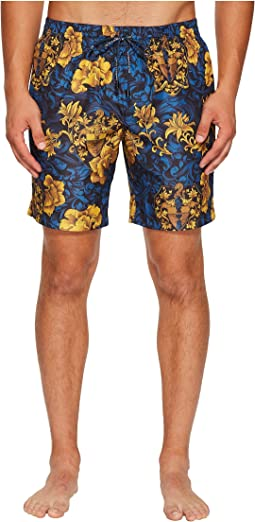 Dolce & Gabbana - Coat of Arms Swim Trunk