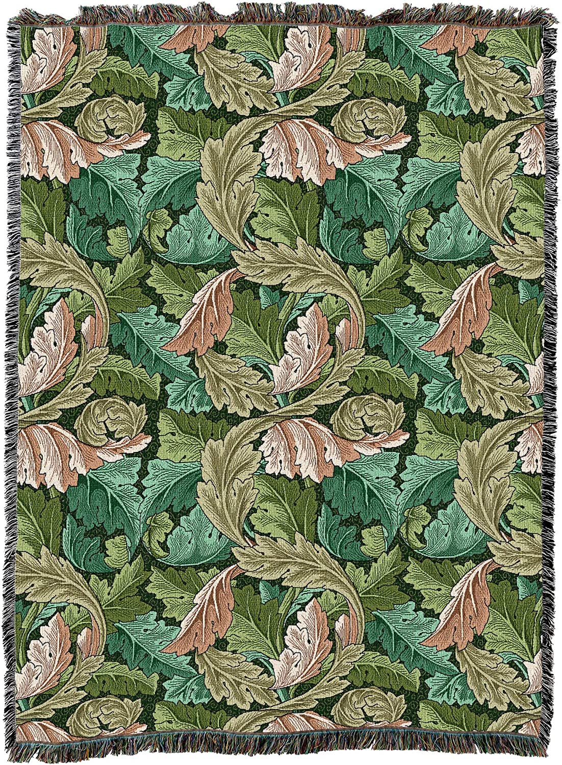 Acanthus Max 66% OFF Leaves - Forest X Oakland Mall Large Morris and Arts William C