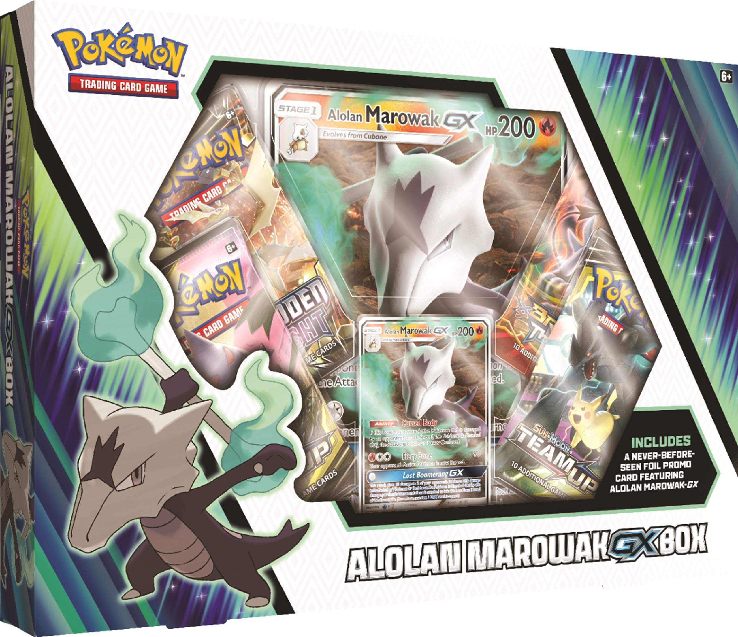 Pokemon Cards TCG Marowak Gx Box Oversize