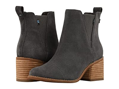 TOMS Esme (Forged Iron Grey Suede) Women
