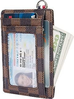 GoCra Small RFID Blocking Minimalist Credit Card Holder Pocket Slim Wallets for Men Women