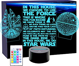 Sponsored Ad - Millennium Falcon Star Wars Lighting Gadget Lamp Decor Awesome Gift
