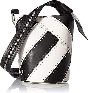 Karsyn Calf Leather Studded 3 in 1 Convertible Bucket