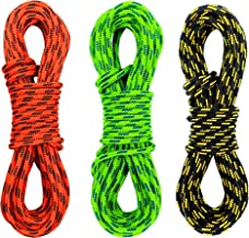 GM CLIMBING Double Braid 3mm (1/8in) Low Stretch 400lb Strength Accessory Cord for Outdoor Activities Tent Tarp Hammock Gu...