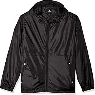 Men's Water Resistance Hooded Windbreaker Jacket