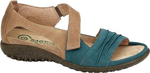 Naot Footwear damen& 039;s Papaki Teal Nubuck Latte braun Leather Sandal 42 (US damen& 039;s 11) M