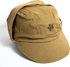 CYBER MONDAY SALE!!! USSR Russian Military Afghanistan soldier Cap +Pin Hat field forage size 57
