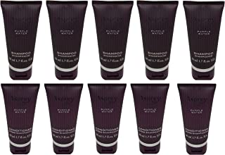 Asprey Purple Water Shampoo and Conditioner lot of 10 Bottles (5 of each)