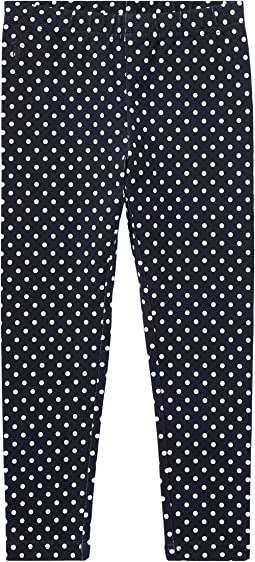 Polo Ralph Lauren Kids - Polka Dot Jersey Leggings (Toddler)
