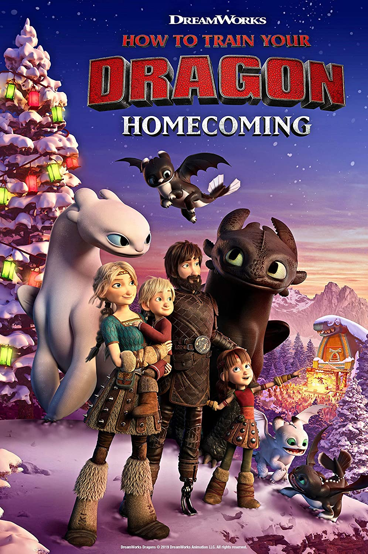 Amazon.com: Kirbis How to Train Your Dragon Homecoming Movie