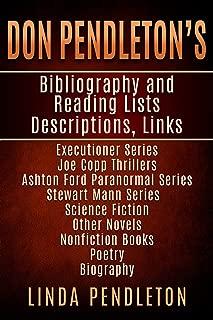 Don Pendleton's Bibliography, Reading List, Descriptions, Links,: Executioner Series, Joe Copp Series, Ashton Ford Series, fiction and nonfiction