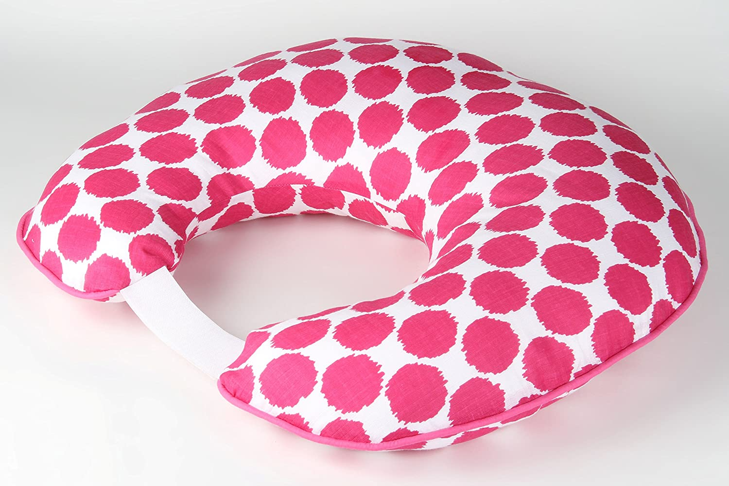 Superlatite Bacati Ikat Dots Clearance SALE Limited time Muslin Fabric Nursing Pillow Inser with Hugster