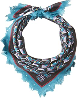 Tory Burch - Martini Silk Neckerchief Scarf