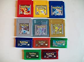 Pokemon Gameboy Color, Advance Legacy Collection. All of the Games with NEW Save Batteries