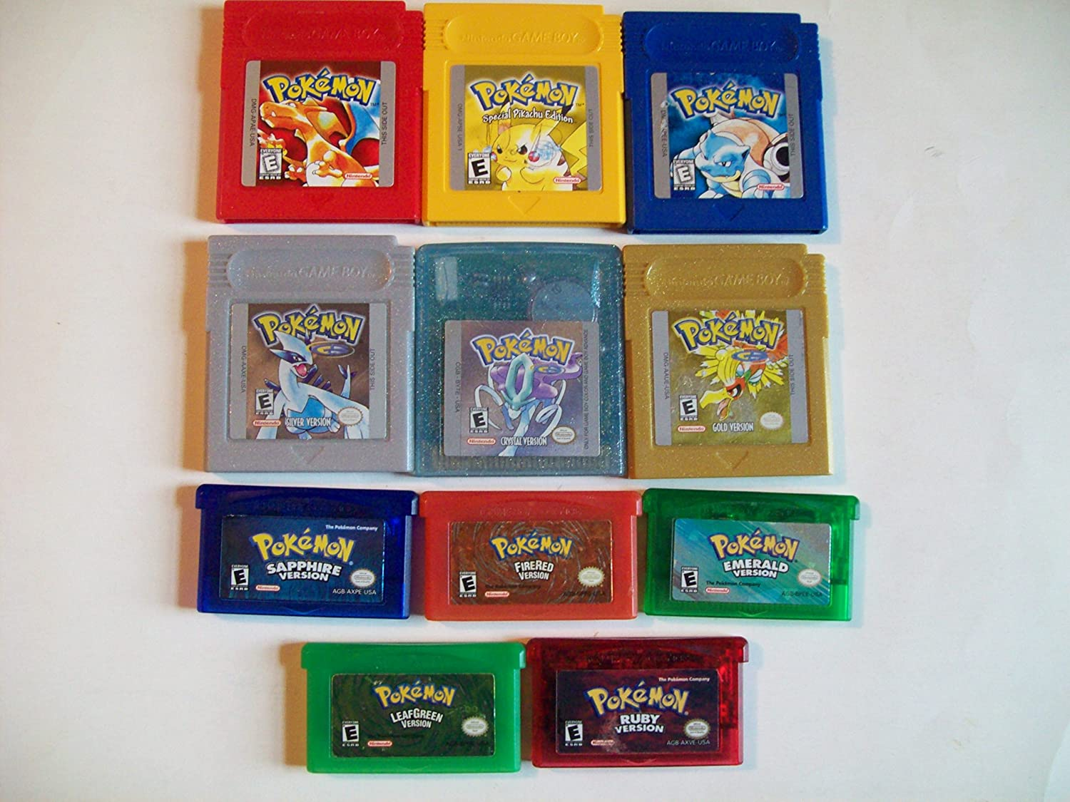Pokemon Gameboy Color Advance Legacy Popular brand Collection. of the Gam All Animer and price revision