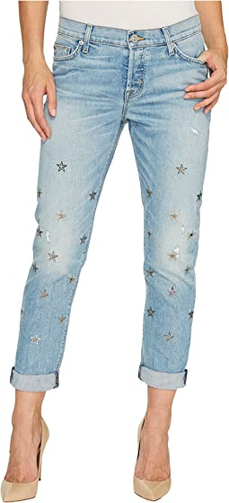 Riley Relaxed Straight Five-Pocket Jeans in Big Shot