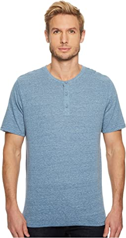 Threads 4 Thought - Baseline Tri-Blend Short Sleeve Henley
