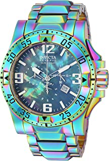 Invicta Men's Reserve Quartz Watch with Stainless-Steel Strap, Multi, 26 (Model: 25363)