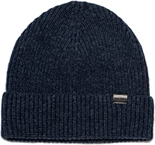 Rich Cotton Beanie Hat 100% Merino Wool Daily Soft Hat Knit Men Women Plain Cuff Rollup Street Style Fisherman Cap