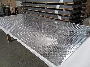 3003 Aluminum Diamond Plate, Brite Finish.125(1/8