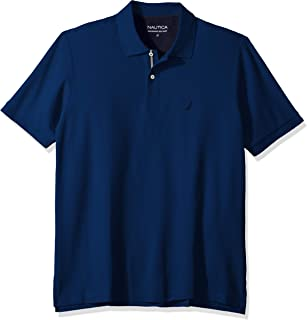 Nautica Men's Big and Tall Classic Fit Short Sleeve Solid...