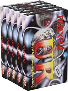 Blank Audio Cassette 90 minutes - 10 Pack Maxell