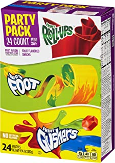 Betty Crocker Fruit Snacks General Mills Party Pack, 9.96 Ounce